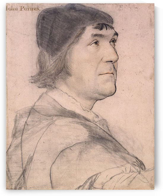 Portrait of John Poyntz by Hans Holbein