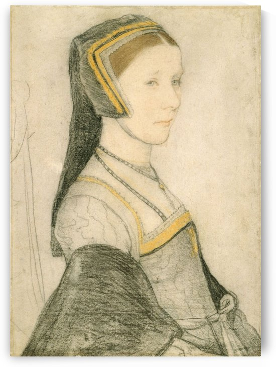Portrait of Anne Cresacre by Hans Holbein
