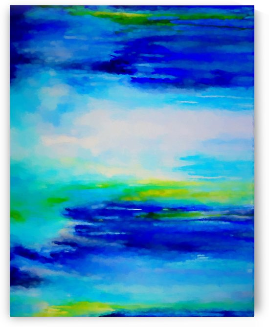 Abstract Landscape 11 by Angel Estevez