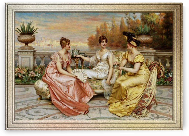 Tea on the Terrace by Frédéric Soulacroix by xzendor7