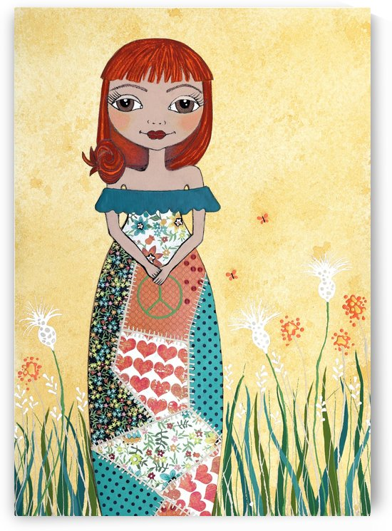 Peace Girl by Lisa Frances Judd