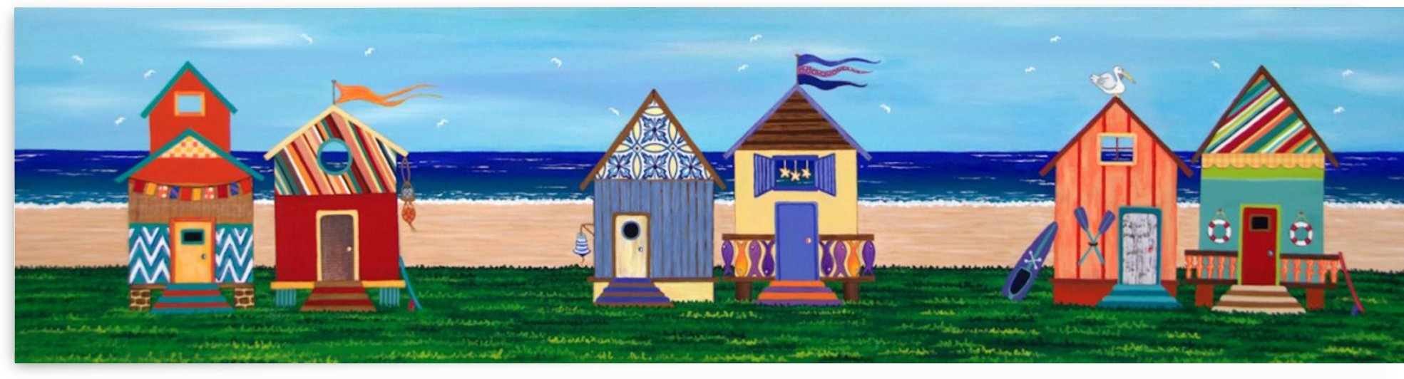 Beach House Holiday by Lisa Frances Judd