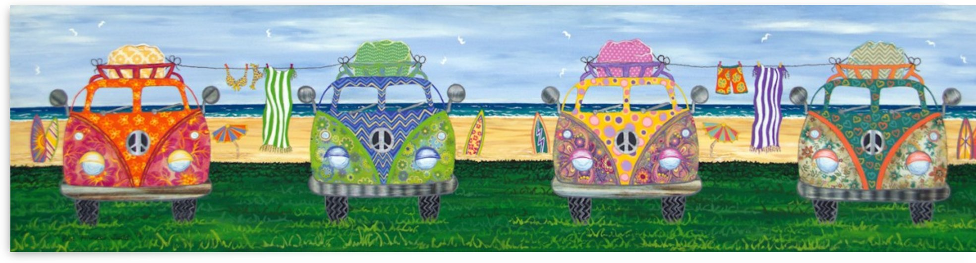 Hippy Van Holiday by Lisa Frances Judd
