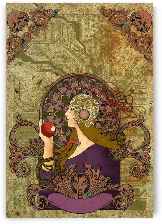 Classic  nouveau  Art Poster  by Smithson