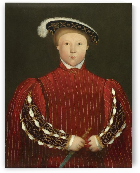 Portrait of Edward, Prince of Wales, later King Edward VI by Hans Holbein