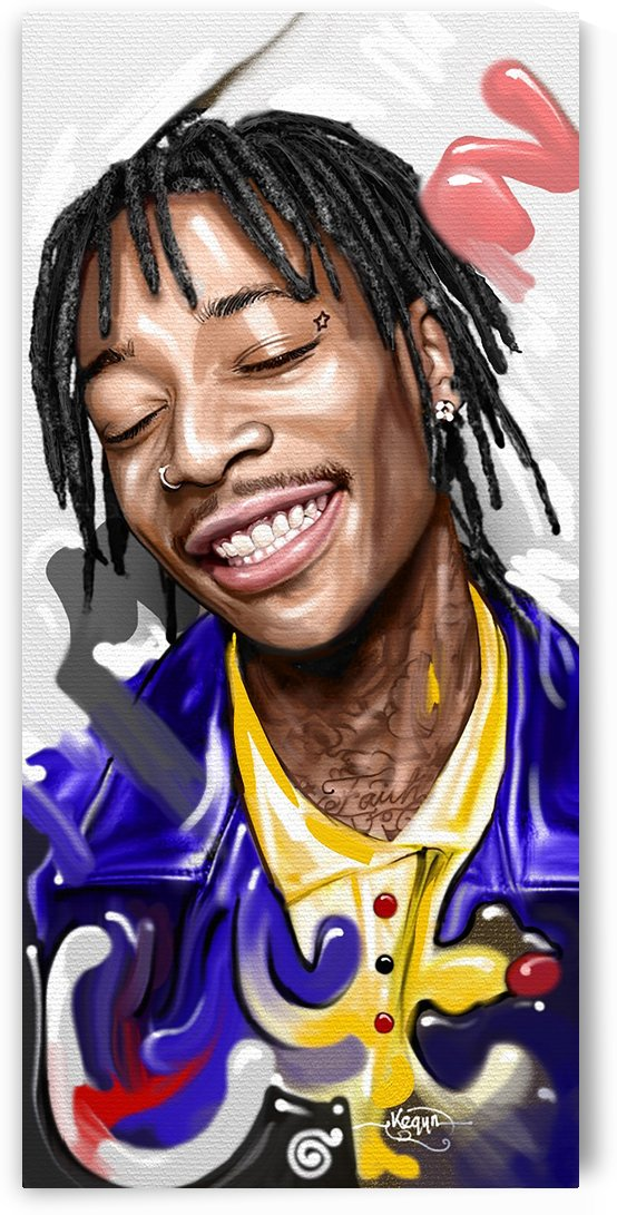 WIZ KHALIFA by GORDEN KEGYA