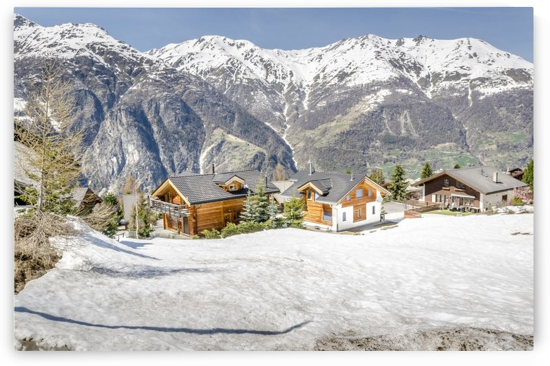 Swiss Christmas by Ann Romanenko