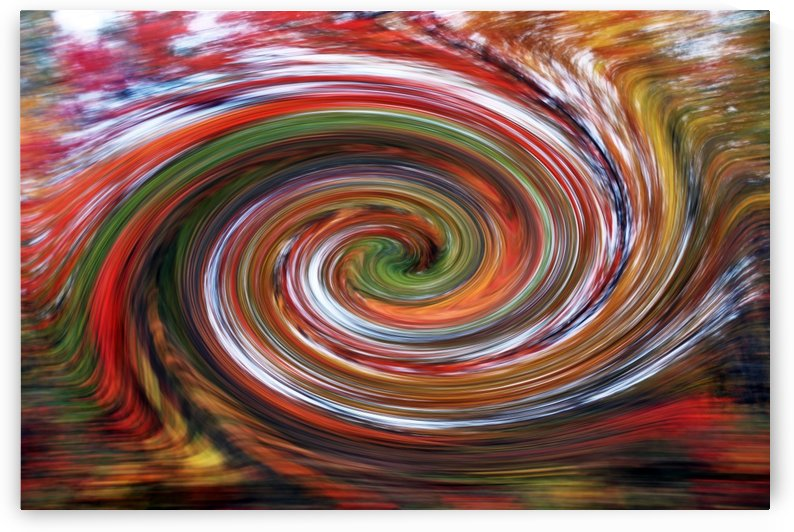 Essence Of Fall Swirl by Deb Oppermann