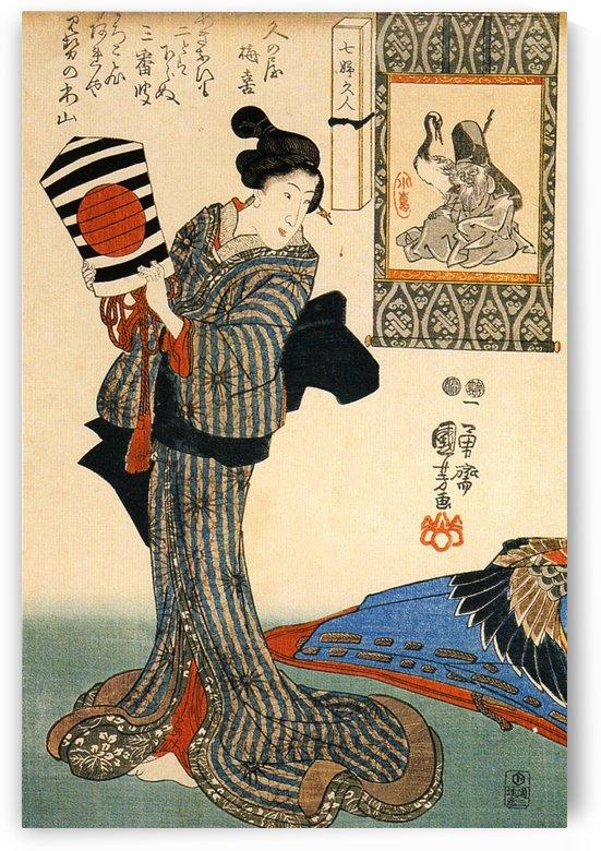 Woman by Utagawa Kuniyoshi