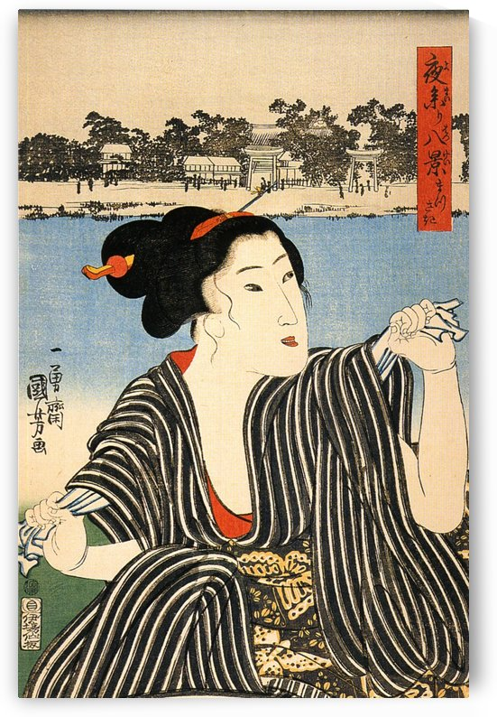 Japan, Women 4 by Utagawa Kuniyoshi
