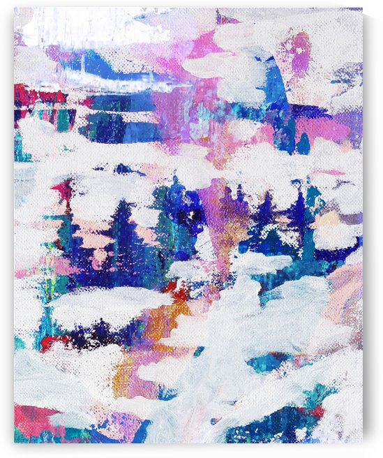 Winter Woodland by Connie Schofield Art