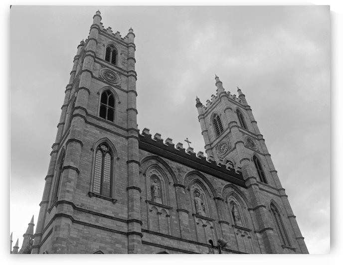 Basilica B&W by Gods Eye Candy