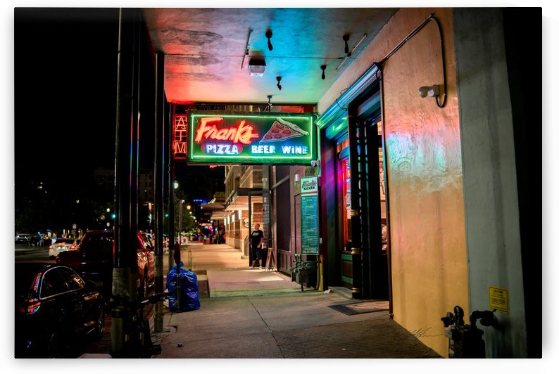 Frank's Pizza Houston by Nancy Calvert