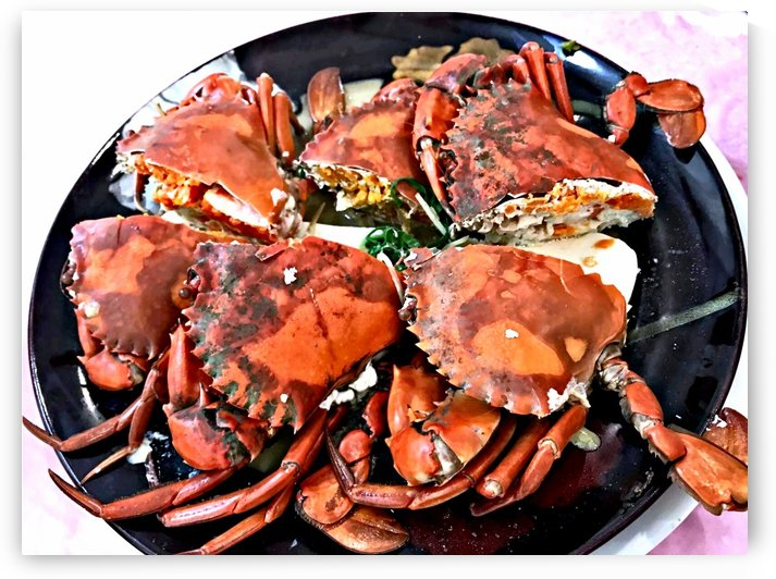 Cooked Crab by Clement Tsang