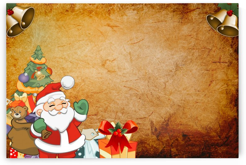 Christmas Santa by Alex Pell