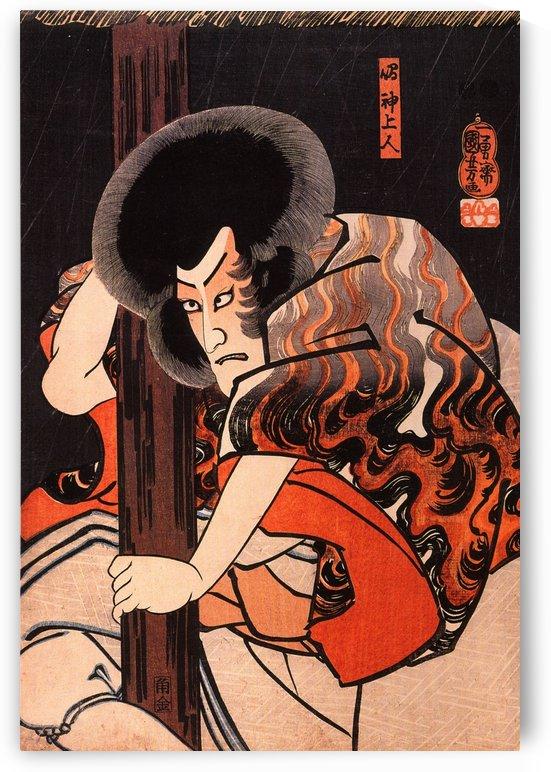 The actor on play by Utagawa Kuniyoshi