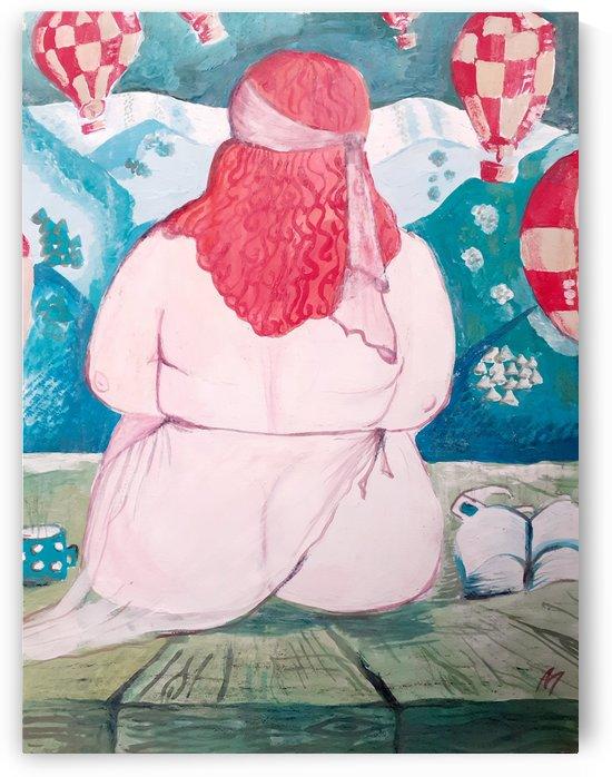 Girl in Wonderland  by Maltez