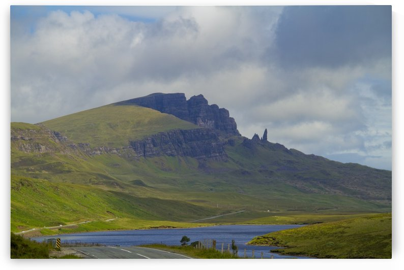 The Storr Over Loch Leathan by Lindsey McCarty
