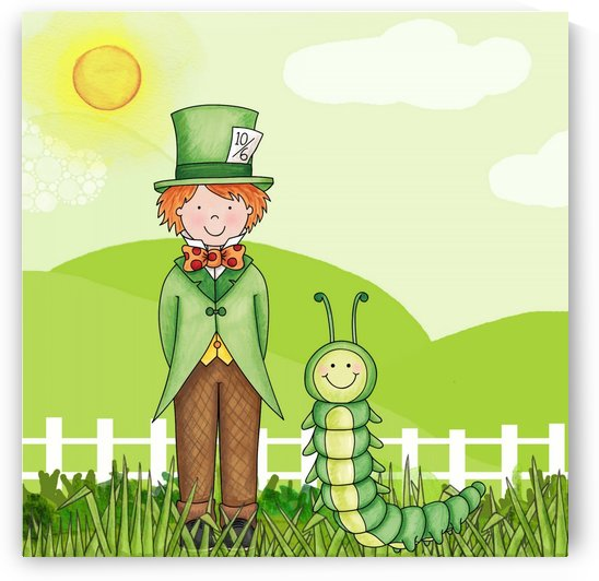 A Little Boy And His Carerpillar Friend    by Smithson