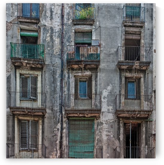 Old Windows and Balconies Edit by Darryl Brooks