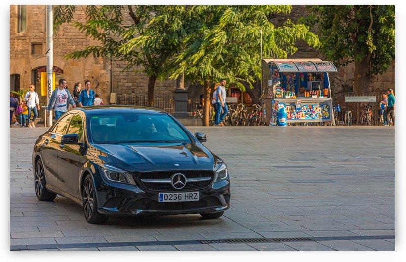 Mercedes in Barcelona PLaza by Darryl Brooks