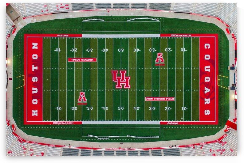 University of Houston Stadium by Nancy Calvert