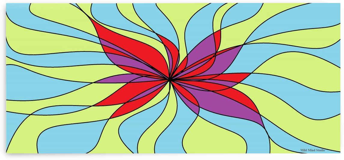 Fluttering hair in the wind by mildmindstudio
