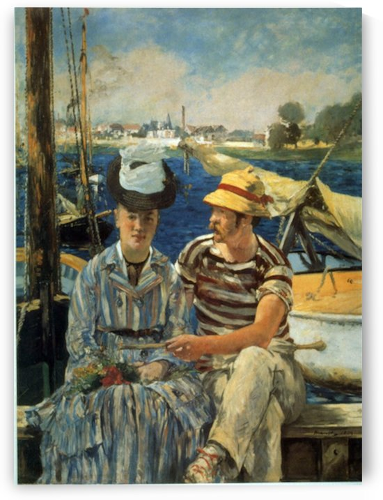 Argenteuil by Manet by Manet