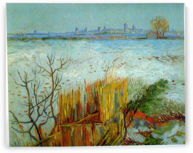 Arles by Van Gogh by Van Gogh