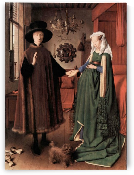 Arnolfini Wedding by Jan Van Eyck by Jan Van Eyck