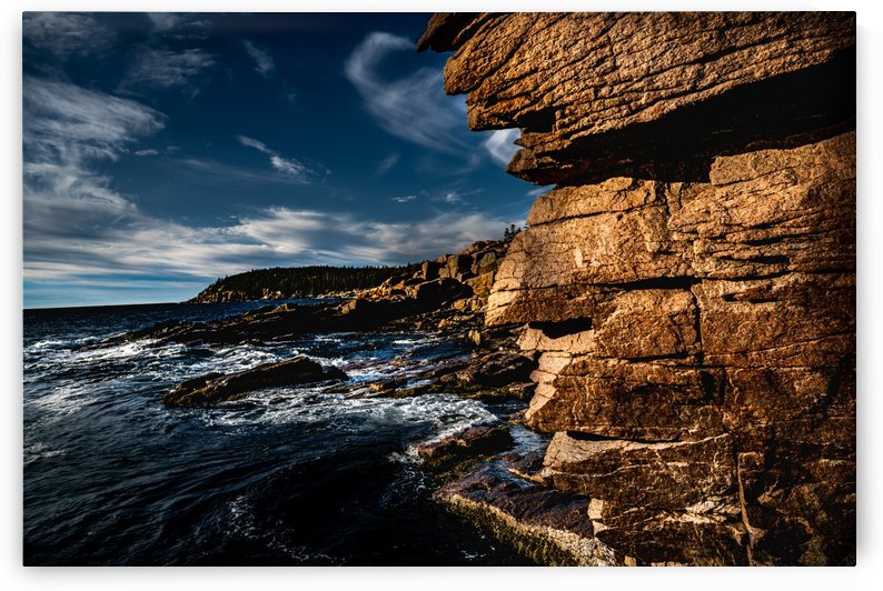 Outside the Thunder Hole by Ed St Germain