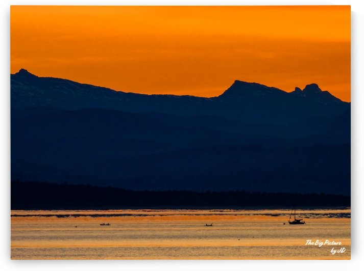 Qualicum Beach Glow by The Big Picture by JD