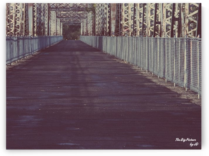 Battleford Bridge Boardwalk by The Big Picture by JD