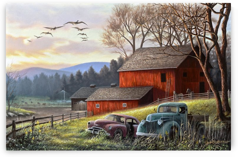 Countryside Dream canvas by CRB