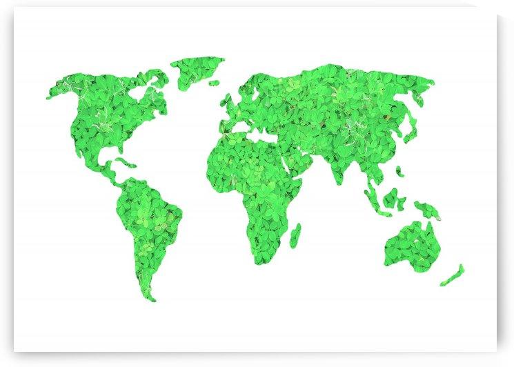 Environment Concept World Map Illustration by Daniel Ferreia Leites Ciccarino