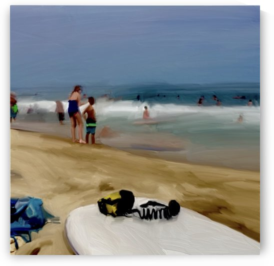 Beach at 52nd Street by Sarah Butcher