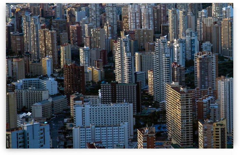 Benidorm skyscrapers by Leighton Collins
