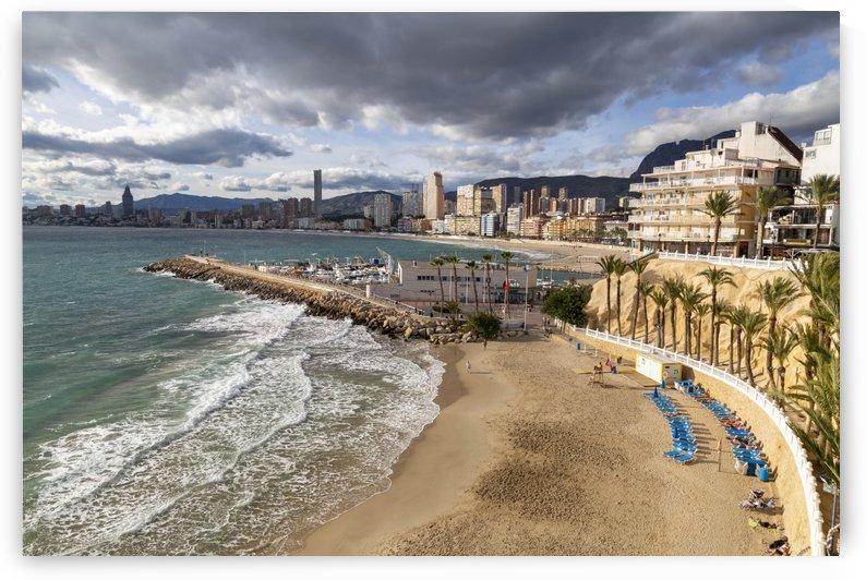 Cala del Mal Pas and Poniente Beach by Leighton Collins