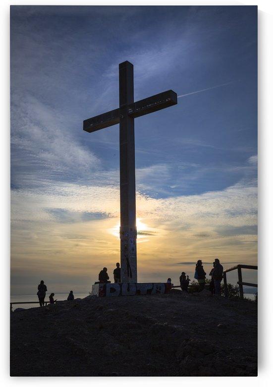 The Cross La Cruz of Benidorm by Leighton Collins