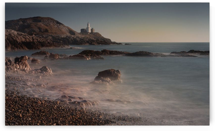 A peaceful morning at Bracelet Bay by Leighton Collins