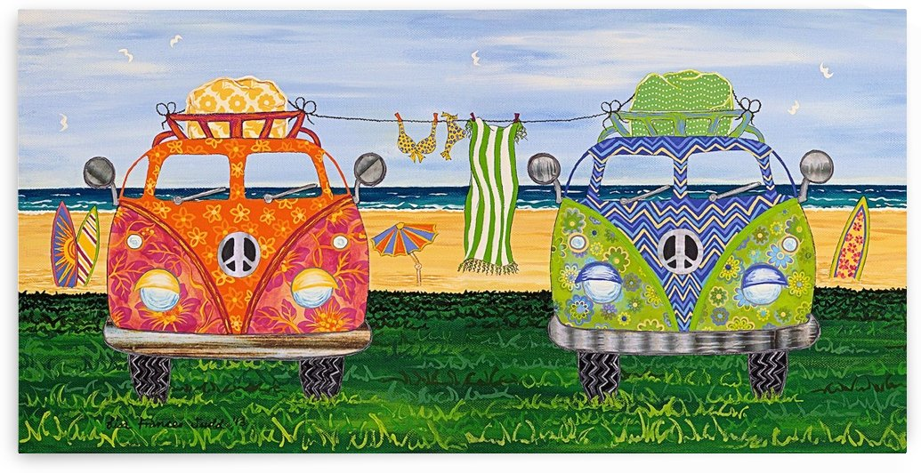Hippy Van Holiday no.1 by Lisa Frances Judd
