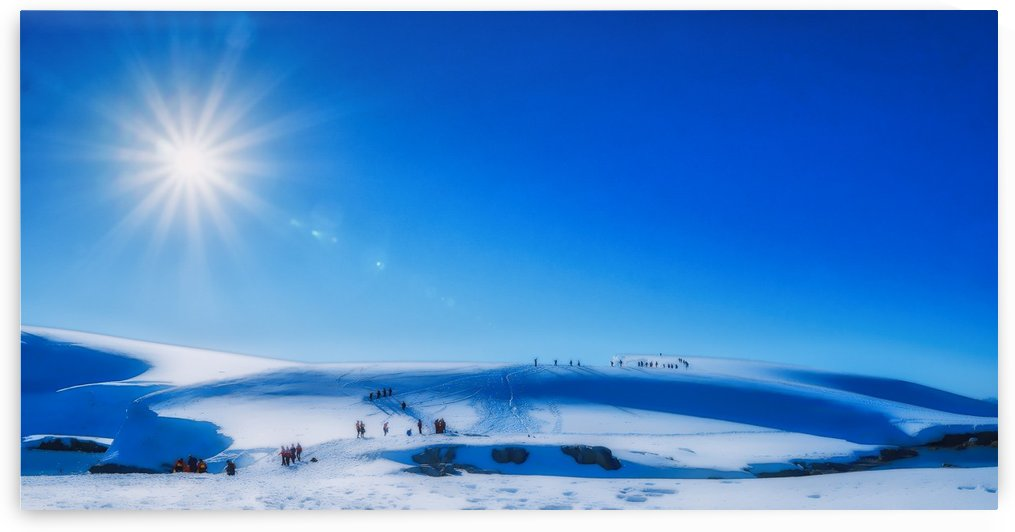 Uphill wallk in sun & snow by Eitan Daniel Raz photogRAZy Studio
