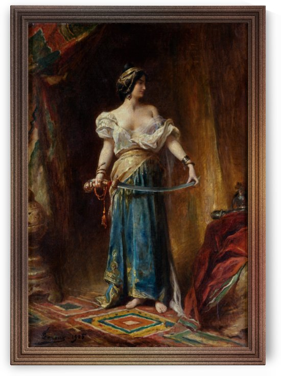 The Harem by Adrien Henri Tanoux by xzendor7
