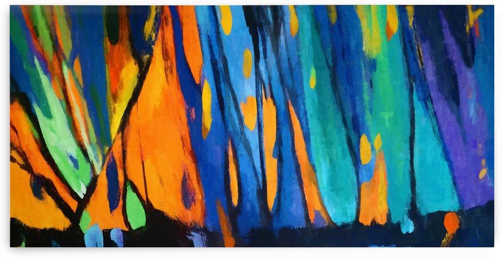 Autumnal Landscape 7 by Angel Estevez