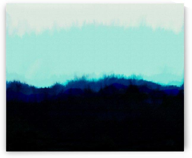 Abstract Landscape 14 by Angel Estevez