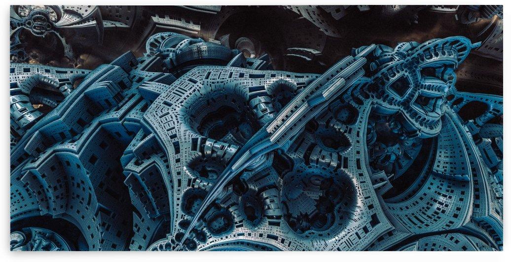 Stationbleumeart (12) by Jean-Francois Dupuis