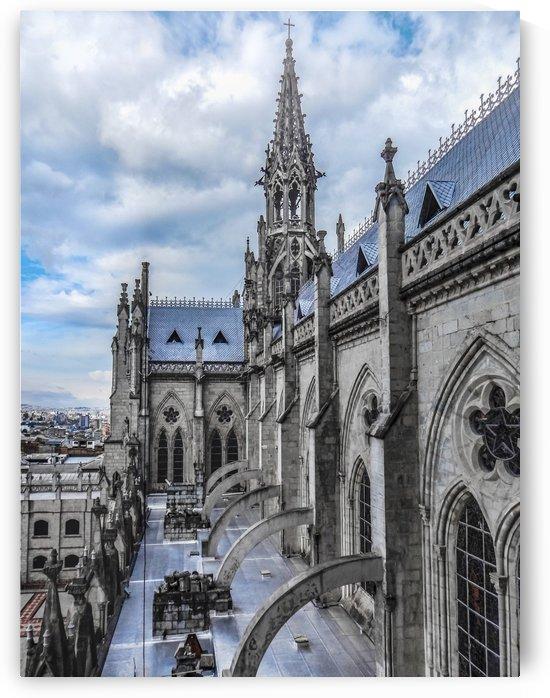 San Juan Basilica Cathedral Quito, Ecuador by Daniel Ferreia Leites Ciccarino
