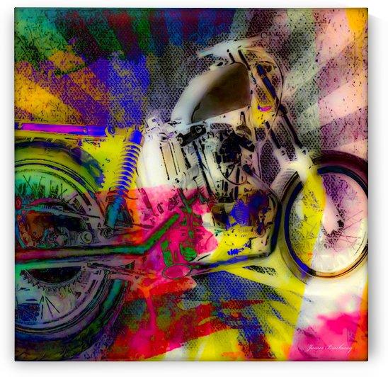 Harley Davidson  by James A Brockway