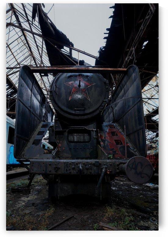 Abandoned Soviet Red Star Train by Steve Ronin