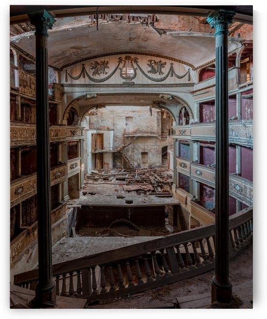 Abandoned Cinema by Steve Ronin